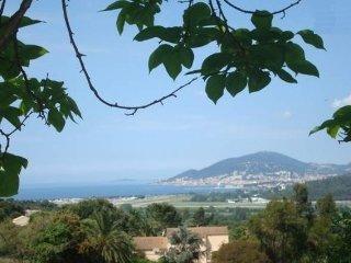 Charmant studio vue golfe d'Ajaccio, Bastelicaccia