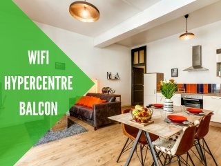Appartement hypercentre Wifi et Balcon, Angers