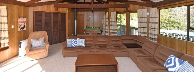 Large upstairs living area