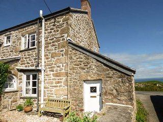 TREVOWHAN HOUSE, woodburning stoves, WiFi, Grade II listed, in St Just, Ref 938753