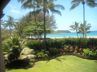 Oceanfront living on Hanalei bay Kauai TVNC 1322