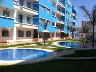 Appartement T3 avec piscine, Martil