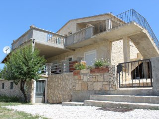 Modern stone house close to sea, Obrovac