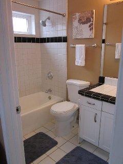 bottom floor full bath
