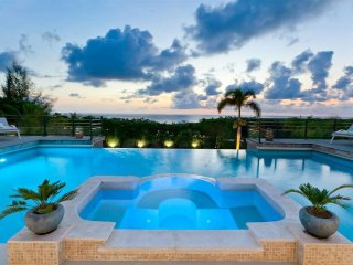 GISELLE... This magnificent 5BR St Martin villa perched on a hillside in the
