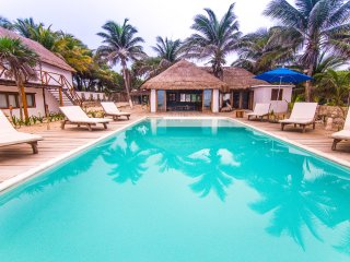 Riviera Maya Villa with Beachfront Pool, Playa del Carmen