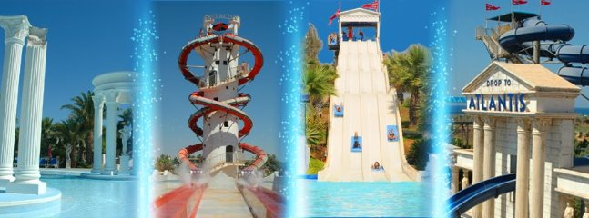 Water Park within 20 minutes walk from the villa