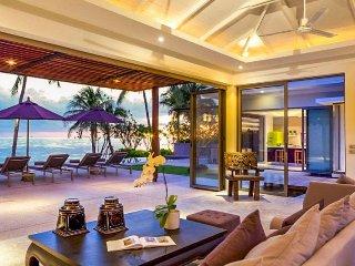 Lipa Noi 4032 -Luxury Beachfront With Chef Service