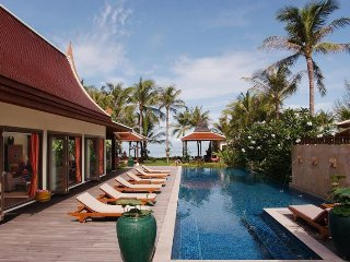 Lipa Noi 4147 -Luxury Beachfront with Chef Service