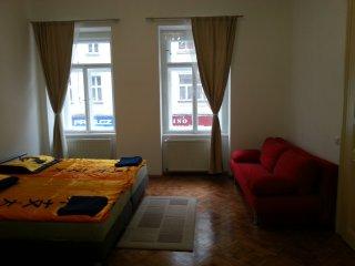 4 bedroom newly renovated flat overlooking Muzeum, Prague