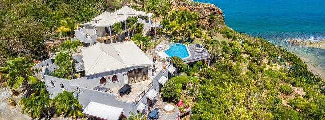 Villa Le Mas Des Sables 3 Bedroom (At The End Of A Beautiful Private Caribbean