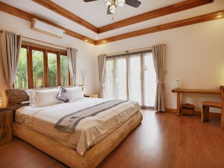 Private luxurious ensuite 2 at the Boathouse, Hoi An