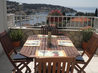 Apartment A3-top view, Hvar