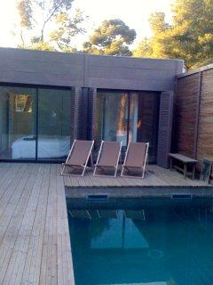 Maison contemporaine Marseille piscine et foret