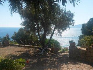 Casa giardino panoramico sul mare