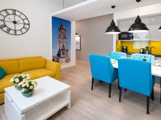 Beautiful Krakow Jewish District apartment for 7, Cracovia