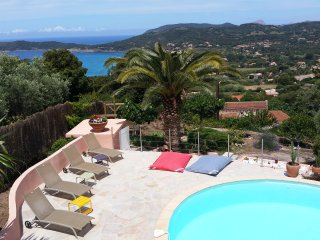 Sea view house with private pool, Cargese