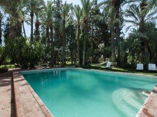 Casa Gyla, une oasis de rêve, un refuge des années 60, 3 km centre ville, Marrakech