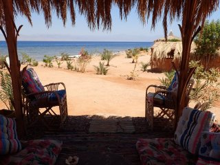 Bedouin Star Deluxe double beach bungalow Egypt