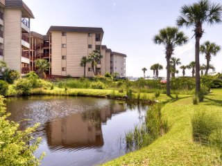 New Listing! 'Admirals Row' Engaging 2BR Hilton Head Condo w/Wifi, Private Balcony & Serene Ocean Views - Steps Away From the Beach!