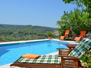 Mediterranean Stone House Villa with Pool in the Heart of the Island, Vrbanj