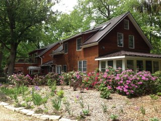 Stunning Inn on 28 Acres with Woods, River, Trails, Union Pier