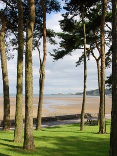 Nearby Swansea bay and Mumbles