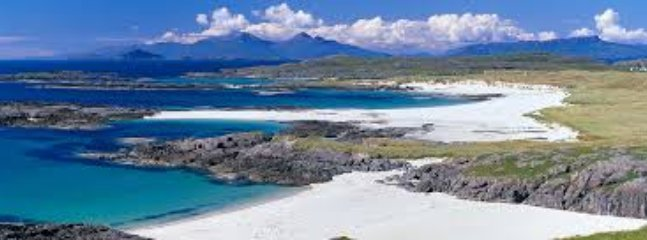 The gleaming white sands of Sanna ~