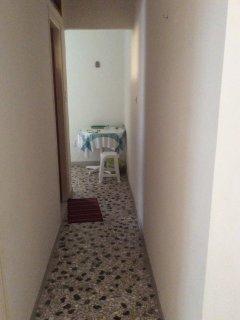hallway between bedrooms.