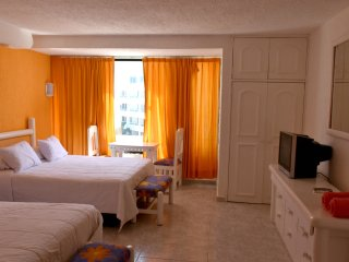 Solymar Ocean front 3 bedroom Hotel Zone, Cancun