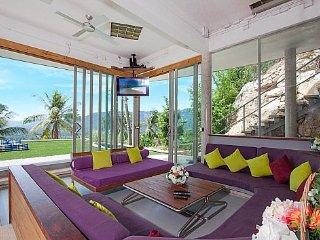 Ultra modern pool villa with sea views, Koh Samui