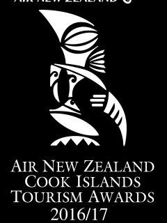 We are the best holiday rental in Rarotonga!! This is the Air New Zeland Trophy.