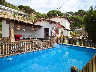 4 bedroom Villa in Cabrils, Barcelona Costa Norte, Spain : ref 2099610