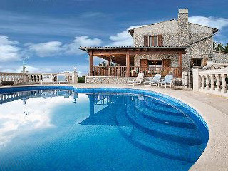 5 bedroom Villa in Son Serralta, Balearic Islands, Spain : ref 5698520
