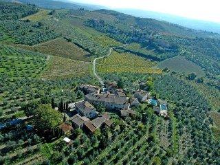 5 bedroom Villa in Lecchi, Tuscany, Italy : ref 5477137