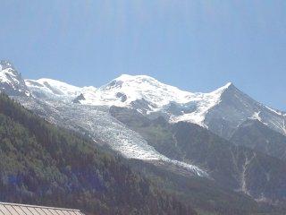 Chamonix Mont Blanc splendida vista Monte Bianco