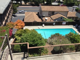 Furnished 1-Bedroom Apartment at El Camino Real & Ralston Ave Burlingame, Hillsborough