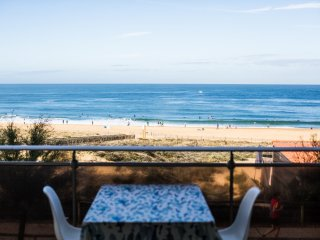 Hossegor ocean view apartment with balcony
