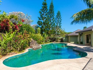 Spacious, elegant, 4br Poipu home with POOL, near beaches, shopping and golf