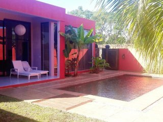 Modern villa with swimming pool, Pointe Aux Piments