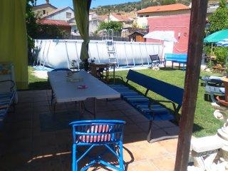 Relax, chimenea, paseos, sillón masaje 1 hr Madrid, Renera