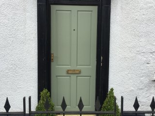 Period townhouse in centre with parking.., Abergavenny