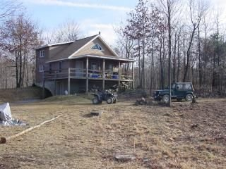 Southern Pennsylvania Mountain House with Acreage, Everett