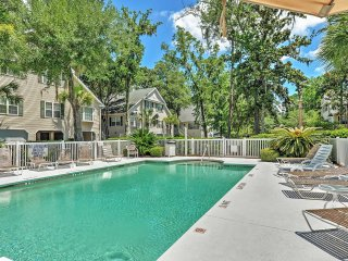 New Listing! Captivating 3BR Hilton Head Island Condo w/Wifi, Community Pool & Rustic Views in Quiet Neighborhood!