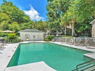 New Listing! Captivating 3BR Hilton Head Island Condo w/Wifi, Community Pool & Rustic Views in Quiet Neighborhood!