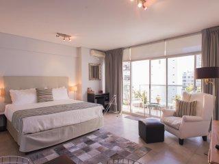 Large Studio w/balcony -Recoleta