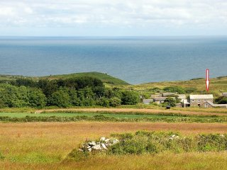 The Mowhay (arrowed) and Trevowhan hamlet
