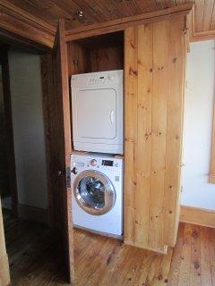 laundry, second floor