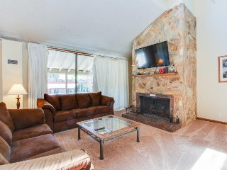 Panoramic view from this 3BDR condo, updated amenities and shared hot tub!, Copper Mountain