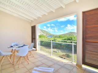 Palm Tree :Cosy Apartement facing Pinel Island, Cul de Sac